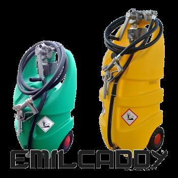 EMILCADDY - Мобильная АЗС  для дизельного топлива,  бензина, масла и AdBlue.